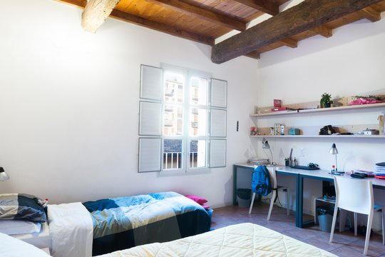 Single room only for male and female students in apartment - Camplus College San felice